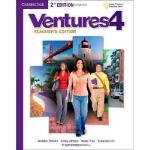 【预订】Ventures Level 4 Teacher's Edition with Assessment Audi