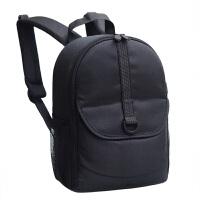 佳能相机包双肩单反女旅行背包男轻便小型摄影包200D750D6D00D 无插锁黑色