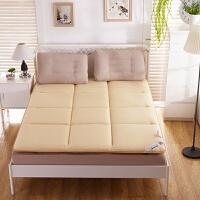 策序家纺 床垫1.8m床1.5m床1.2米单人双人褥子垫被学生宿舍海绵榻榻米床褥