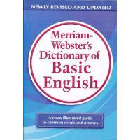 M-W's Dictionary of Basic English 韦氏基础英语词典 (基础学习、尤其适合非英语母语人