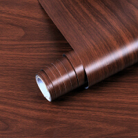 自粘墙壁纸木纹 衣橱柜门衣柜家具翻新仿木环保加厚墙贴纸贴