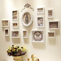 照片墙欧式实木相框墙客厅卧室背景相片墙创意相框挂墙