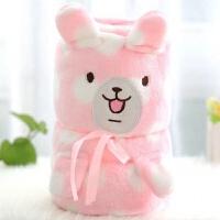 卡娜赫拉的小动物卷毯绒毛空调毯皮卡丘午睡毯宝宝小毛毯小毯子 100*78cm