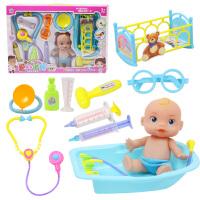 儿童医生玩具套装 女孩过家家仿真声光听诊器 宝宝打针玩具医药箱
