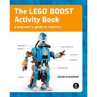 英文原版 乐高编程机器人活动手册 The Lego Boost Activity Book