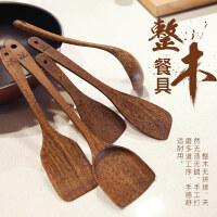 【支持礼品卡】鸡翅木勺铲健康木勺实木不发黑勺铲套装7bv