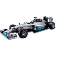 1:14奔驰AMG F1w05赛车F1方程式遥控赛车仿真电动高速跑车 奔驰F1 44号汉密尔顿 赛车 电动遥控115