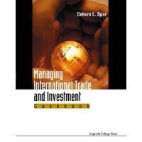 【预订】Managing International Trade and Investment 97818609428