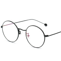 镜框女可配有度数近视镜圆形金丝复古全框学生平光镜男镜架