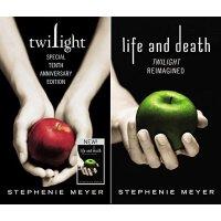英文原版 Twilight Tenth Anniversary/Life and Death Dual Edition