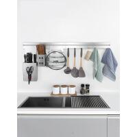 厨房置物架壁挂 不锈钢厨卫挂件架子刀架调料架用品收纳架4bn