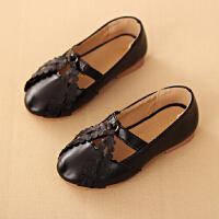 黑色儿童公主鞋 摄影儿童拍照皮鞋 女宝宝拍照鞋子新款韩式摄影鞋