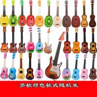 ?儿童仿真吉他玩具尤克里里玩具多款随机发? 1_吉他【多款随机发】
