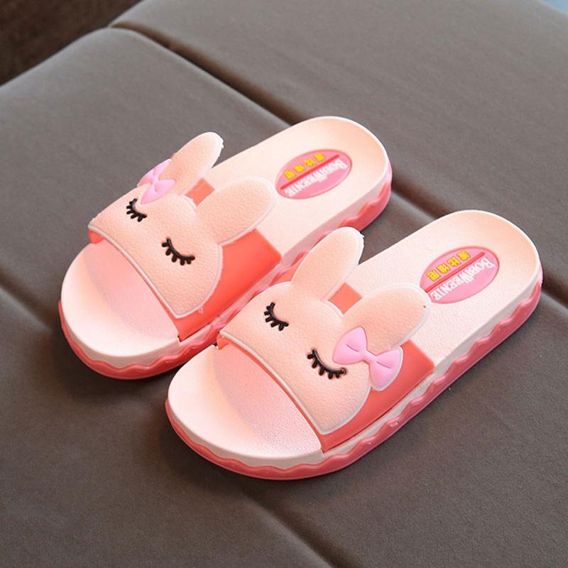 儿童拖鞋女夏 室内防滑 女童凉拖鞋公主浴室专用小孩外穿大童男童