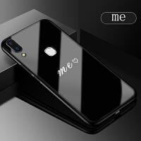 vivoy85玻璃手机壳vivo y85a保护套步步高z1青春版情侣款软z3x硅胶个性vivoz1i