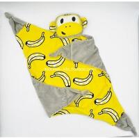 欧美ins安抚巾 婴儿安抚娃娃公仔手偶儿童小毛毯不掉毛可入口
