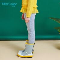 【2件2折】拉巴拉旗下MarColor马卡乐2019春新品女童修身弹力针织打底裤