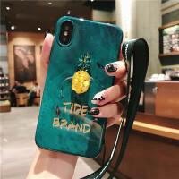 祖母绿vivo女苹果xsmax手机壳华为7plus潮oppo水钻iphone8挂绳6sp