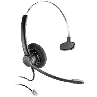 缤特力 SP11 有线电话耳机 客服话务耳麦 降噪高清通话 RJ11电话线接口 AVAYA IP电话适用呼叫中心 客服话务耳麦,客服中心适用