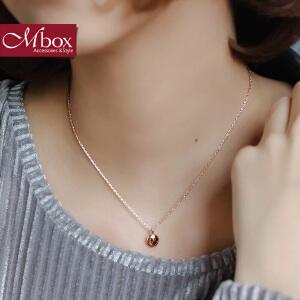 新年礼物Mbox项链 女韩国版原创采用波西米亚风元素时尚锁骨项链 告白气球
