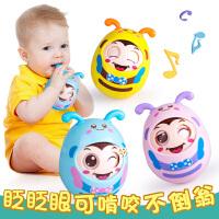 宝宝益智不倒翁玩具婴儿3-6-9-12个月小孩0-1岁大号点头不到翁5-7