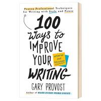 100种提高写作水平的方法 英文原版 100 Ways to Improve Your Writing 自我提升 英文