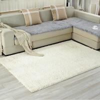 可定做雪尼尔地毯卧室客厅茶几简约现代家用吸尘床边铺满防滑地垫