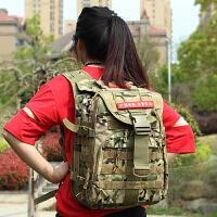 双肩包战术背包45L户外军迷用品单兵作战包特种兵野战迷彩包