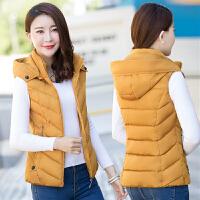 中年秋冬棉马甲女短款40岁新款韩版加厚棉背心妈妈装羽绒外套