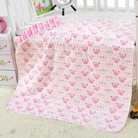 纯棉婴儿浴巾宝宝新生儿童全棉6层纱布盖毯毛巾被吸水秋冬抱被