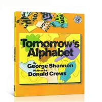 英文原版绘本Tomorrow's Alphabet George Shannon明天的字母幼儿英语启蒙书学习单词 廖彩杏