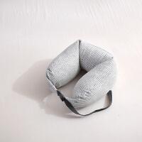 乳胶颗粒脖子U型枕护颈枕办公u形午睡枕趴睡枕飞机旅行枕头