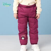 迪士尼Disney童装 女童羽绒长裤轻盈保暖冬季新品女宝宝裤子194K931