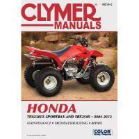 【预订】Clymer Manuals Honda: TRX250EX, SPORTRAX/TRX250X 2001-2