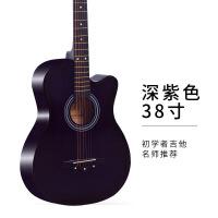 初学者吉他单板民谣玫瑰木古典吉他男女学生新手入门练习乐器38寸