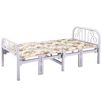 可以收起来的午休折叠床单人轻巧便携简易家用1.5米可移动省空间