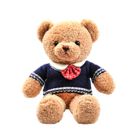 泰迪熊毛�q玩具熊公仔大�穿衣抱抱熊布娃娃�和�玩偶生日�Y物女生