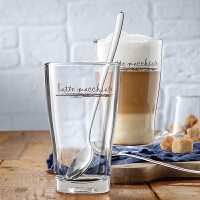 德国WMF福腾宝BARISTA系列拿铁咖啡杯啤酒杯2件套简约欧式玻璃杯