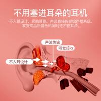 K08蓝牙耳机骨传导双耳无线运动跑步挂耳式不入耳骨传感脖颈挂式适用华为OPPO苹果vivo小米男女手机通用