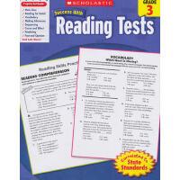 学乐必赢 SCHOLASTIC SUCCESS WITH READING TESTS, GRADE 3