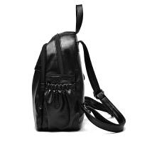 韩版女士双肩包春夏季百搭学生书包2018新款软皮少女生旅行背包潮