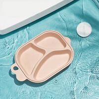 宝宝餐盘 婴儿辅食碗分格盘子可爱家用儿童餐具