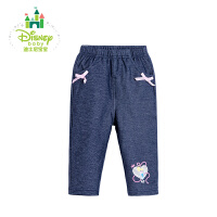 【限时抢:32】迪士尼Disney童装女童裤子儿童秋装新品女宝宝休闲百搭长裤173K772