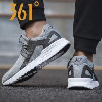 【低价直降】361度男鞋新款运动鞋男透气跑步鞋跑鞋轻便休闲鞋