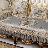 欧式沙发垫四季通用型布艺客厅123组合沙发罩全盖全包�f能套