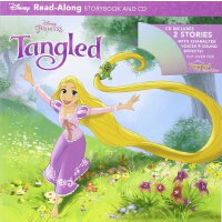 Tangled and Tangled Ever After Read-Along Storybook and CD