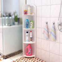 卫生间置物架浴室收纳角架厕所卫浴洗手间落地欧式储物架子p5t