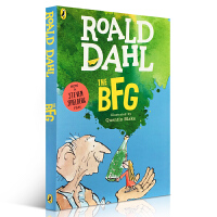 (顺丰包邮)【送音频】正版现货 好心眼儿巨人 圆梦巨人 英文原版儿童读物章节书 The BFG roald dahl 罗