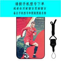世界杯足球苹果ip6/s plus 5/se手机壳皇马球星C罗全包男潮款软壳