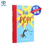 英文原版 鲍勃遇上波普艺术 Bob Goes Pop 艺术家鲍勃系列 艺术启蒙 儿童英语绘本